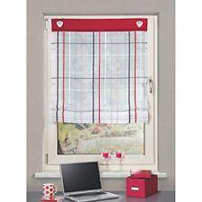 Home Fashion 91125-807 Paroi japonaise avec Œillets Rouge 140 x 80 cm