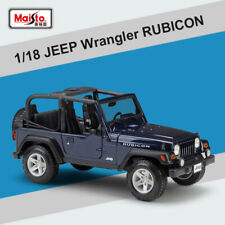 Maisto 1:18 Jeep Wrangler Rubicon Topless Diecast Car Model Vehicles Toy In Box