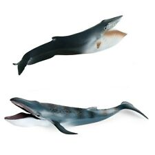 Blue Whale Figure Ocean Cetacean Animal Model Collector Decor Kids Toy Gifts