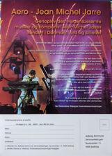 Aero concert book flyer/order form 2002 - Jean Michel Jarre