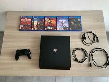 Console Sony PlayStation 4 Pro 1TB Usata, Controller Incluso, 5 giochi Inclusi