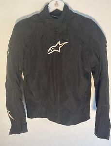 Alpinestars MotoGP Assen Jacket Black Small Excellent Condition