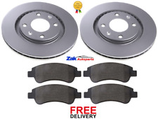 FOR CITROEN XSARA PICASSO 1.4,1.6,1.8 02-07 FRONT BRAKE DISCS & PADS SET *NEW*