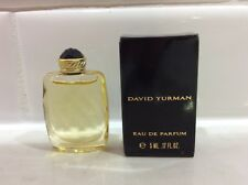 🌷 David Yurman eau de parfum - LOT of 2 miniature bottle 5 ml each + box