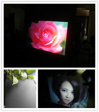 A-4 Sample Size Black Rear Projection Screen Holographic Rear Projection Film