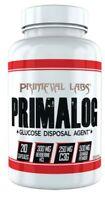 Primeval Labs Primalog 210 Caps Glucose Disposal Agent Glycolog RP primavar