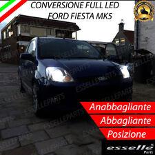 KIT LED ANABBAGLIANTI H4 LED BI-LED + LUCI DI POSIZIONE T10 LED FORD FIESTA MK5