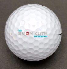 The Simon Keith Foundation Logo Golf Ball (1) Wilson Ultra 500 PreOwned
