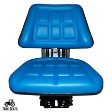 Blue Tractor Suspension Seat Fits Ford New Holland 6600 6610 7000 7600 7610