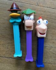 Phineas and Ferb Perry, Lot of 3 Pez Dispensers Toys Disney