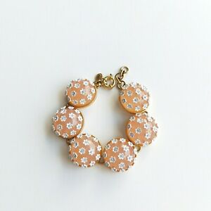 J.CREW stone and blossom bracelet Item L5772