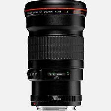 Objectif Canon EF 200mm f/2.8L II USM #2529A015 EF20028L2 Lens
