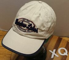 NICE MEADOW LAKES GOLF COURS PRINEVILLE OREGON HAT BEIGE STRAPBACK VGC XQ