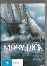 MOBY DICK  - WILLIAM HURT & ETHAN HAWKE - NEW REGION 4 DVD FREE LOCAL POST