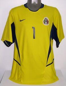 NIKE MEXICO GK GOALKEEPER SANCHEZ GOLD CUP 2003 L ORIGINAL JERSEY SHIRT