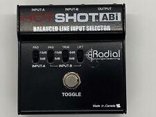 Hot Shot Abi, Balanced Line Input Selector