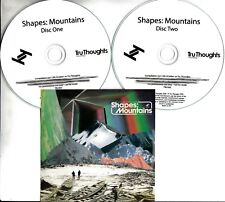 SHAPES: MOUNTAINS 2018 UK 32-trk promo test 2xCD Tru Thoughts