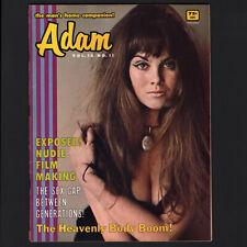 "Caroline Munro -Adam magazine-Nov 1968- Hammer films, Bond girl ""Carolyn Munroe"""