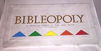 Bibleopoly Board Game: A Biblical Game of Fun & Faith Vintage 1991 NEW - SEALED