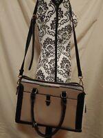 MADISON WEST Large purse bag PADDED POCKET for LAPTOP briefcase NWOT
