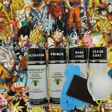 Hydrographic Film Water Transfer Hydro Dip Kit Activator Paint Film Anime Bomb 4