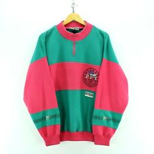 Rare Vintage adidas Rough Rat Sweater Size 2XL in Pink & Green #EF4049