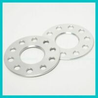 2 Hub Centric Wheel Spacers 5mm 5x114.3 4.5 64.1   64mm fit Honda Acura