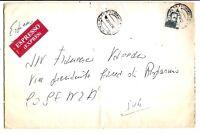1961 - Michelangiolesca - lire 200 - isolato su Expr per Cosenza - 1967