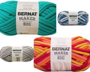 [BUY 10 GET 25% OFF] Bernat Maker Big Yarn 250g - chunky tubular yarn