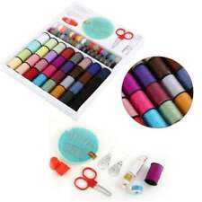 100 Piece Sewing Machine Thread Set Sewing Machine Spool Bobbin Set Kit Reel US