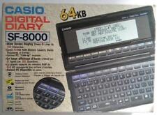 CASIO DIGITAL DIARY SF 8000 64  KB VINTAGE ELECTRONICS