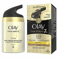Olay Total Effects 7-in-1 Touch of Foundation BB Moisturiser Medium, 50 ml