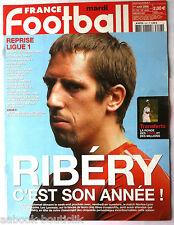 FRANCE FOOTBALL 1/08/2006; L'année Ribéry/ Top 50 du Championnat/ 20 Equipes