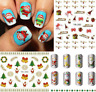 Nail Art Water Transfer Stickers-Decals-NATALE-CHRISTMAS-Adesivi Unghie-Manicure