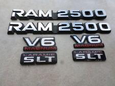97-01 Dodge Ram 2500 V6 Magnum Laramie SLT Door 55295311 Logo 55296307AB Emblems