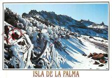 Postcard_ La Palma, Nieve En La Cumbre Con Observatorio, Observatory And Snow