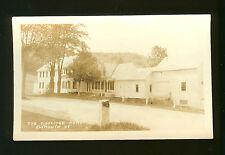 The Coolidge Home - Plymouth VT - Unused Vintage Postcard - Defender Stamp Box