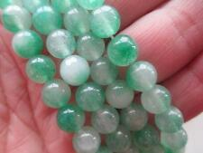 "Natural 8mm green Kunzite Round Gemstones Loose Beads 15""##HL096"