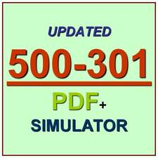Cisco Cloud Collaboration Solutions CWSDI Test 500-301 Exam QA PDF+Simulator