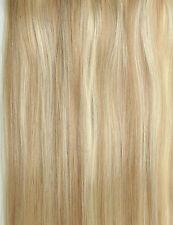 "1 GRAM 16"" 18"" 20"" 1G/S  Nano Ring Tip 100% Human Hair Extensions UK"