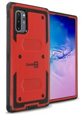 Red Hybrid Cover For Samsung Galaxy Note 10 Plus / Note 10 Plus 5G Phone Case