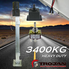 Trojan Heavy Duty Jack Stand 3400KG Electric Jockey Park Leg for Trailer Caravan