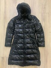 Auth MONCLER MOKA Down Puffer Hooded Long Quilted Parka Jacket Giubbotto