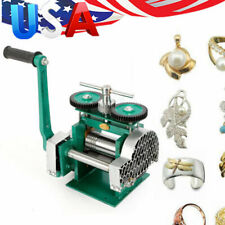 Green Stainless Alloy Rolling Mill Machine Jewelry Tools & Equipments 60mm Round
