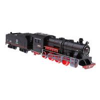 Enfant Véhicule Jouet Locomotive à Vapeur Modèle De Train Modèle De