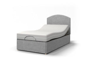 Majestic IND 3ft Single, 3ft 6 LSingle or 4ft SDouble Electric Adjustable Bed-H1
