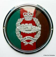Vintage 1960s Military Car Badge - The Royal Tank Regiment RTR - Grille Mascot