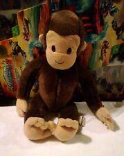 CURIOUS GEORGE Stuffed Original Unclothed Cartoon Monkey PLUSH GEORGE