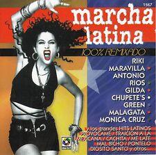 El Chicano Monica Cruz Grupo Green Riki Maravilla Marcha Latina CD No Plastic