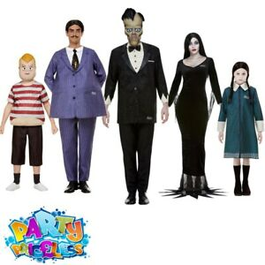 Addams Family Costume Adult Kids Adams Fancy Dress Outfit Halloween Outfit